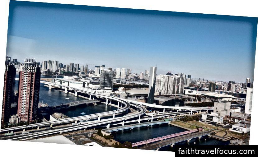 Đường chân trời thành phố Tokyo