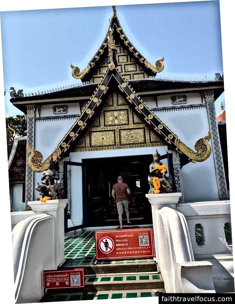 Ngôi đền này chỉ dành cho nam giới