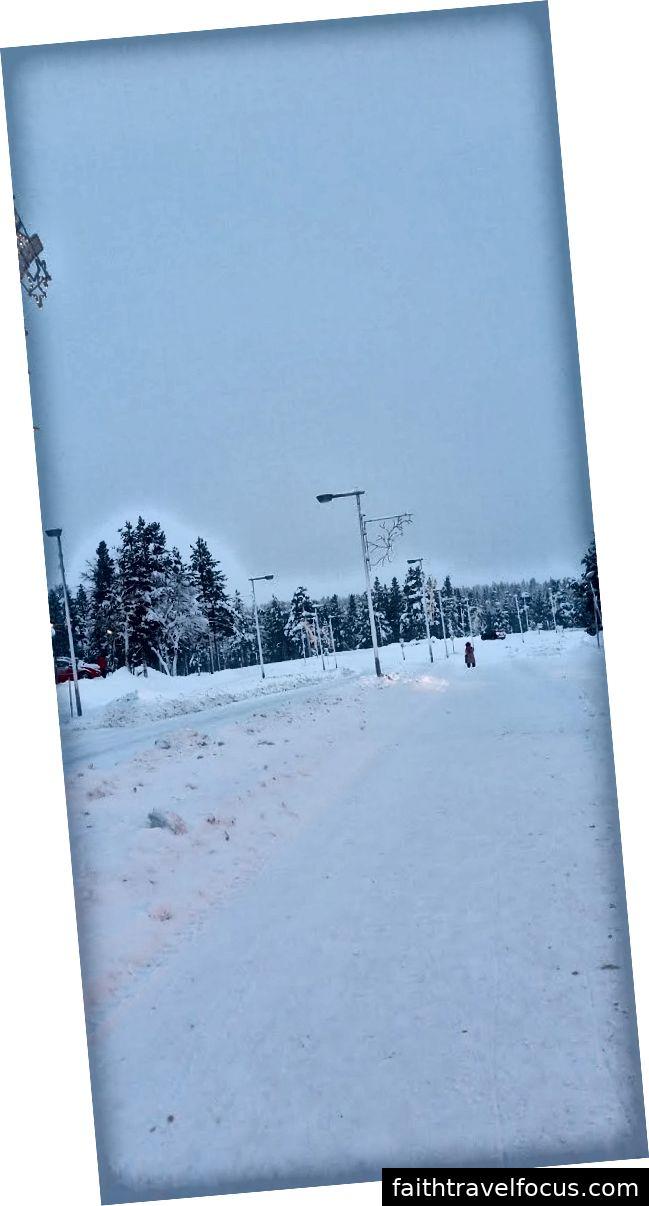 Đường đầy tuyết