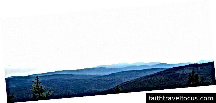 Dãy núi Blue Ridge, NC