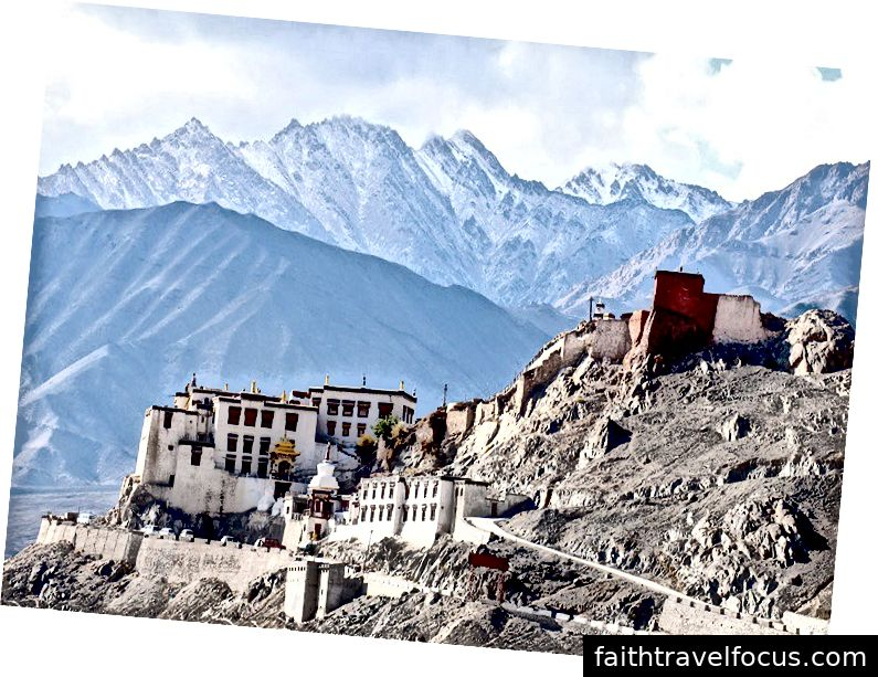 Spituk Gompa Ladakh