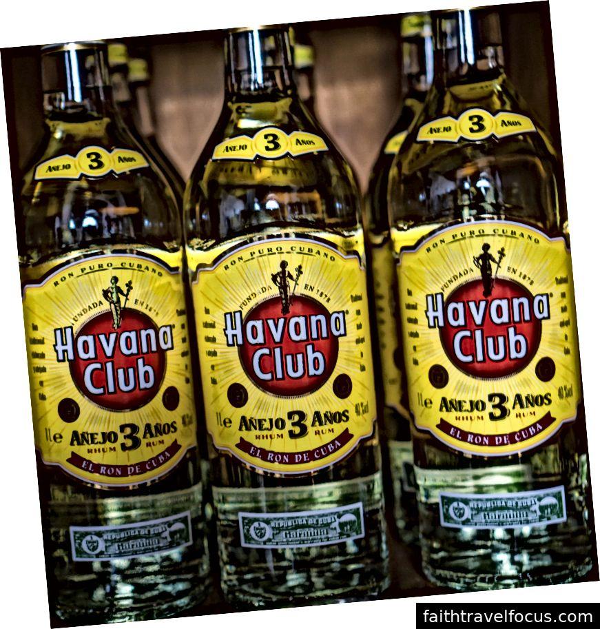 Cuba Rum rum - Câu lạc bộ Havana