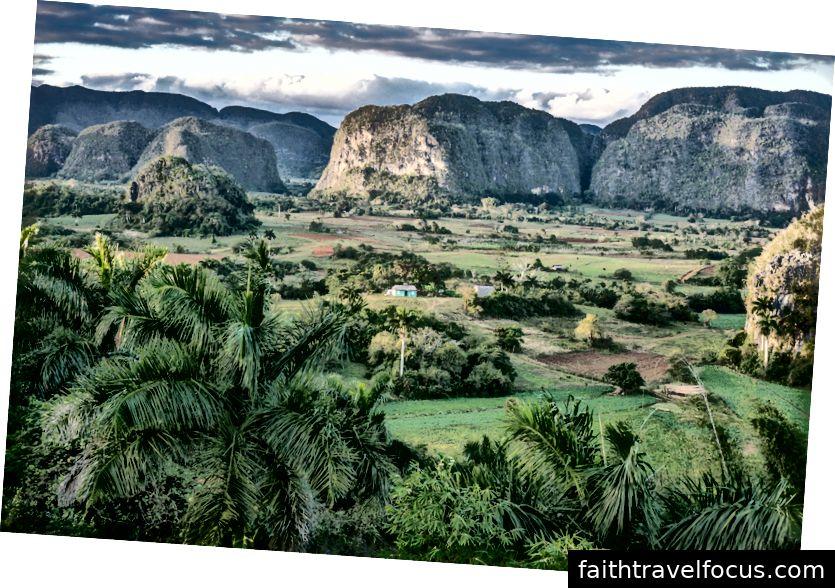 Quang cảnh thung lũng Viñales
