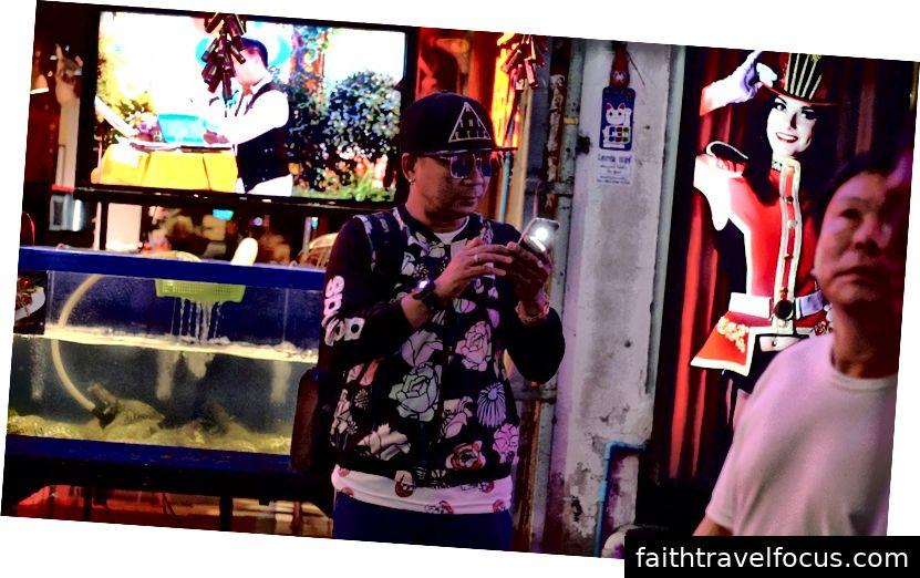 Một du khách Trung Quốc ở Pattaya. Ảnh: Claudia Hinterseer