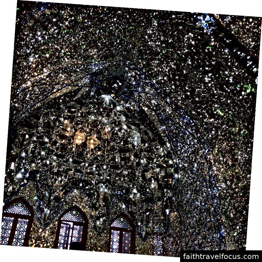 Lăng của Tiểu vương quốc Ali, Shiraz, Iran. Ảnh: William Han