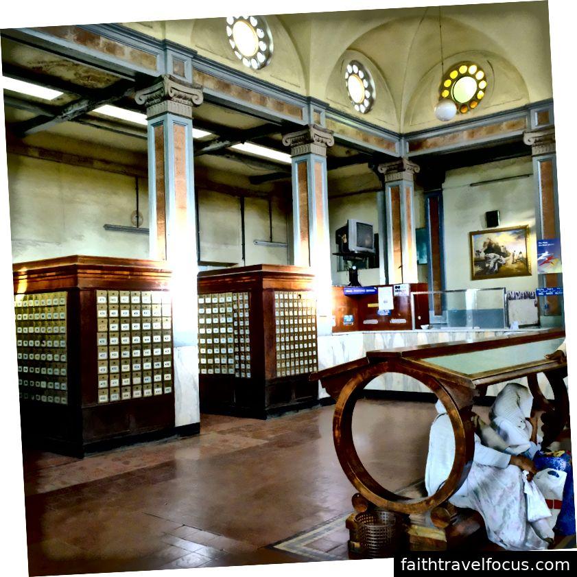 Bưu điện trung tâm Asmara từ (Tác giả pic pic)