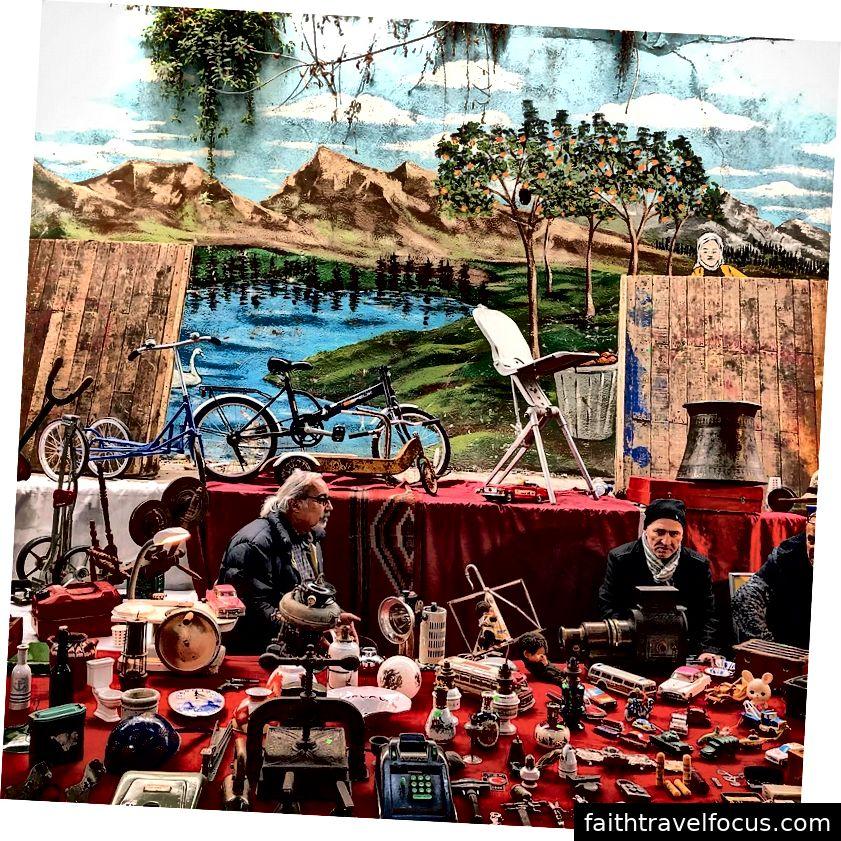 Chợ đồ cổ Ferikoy
