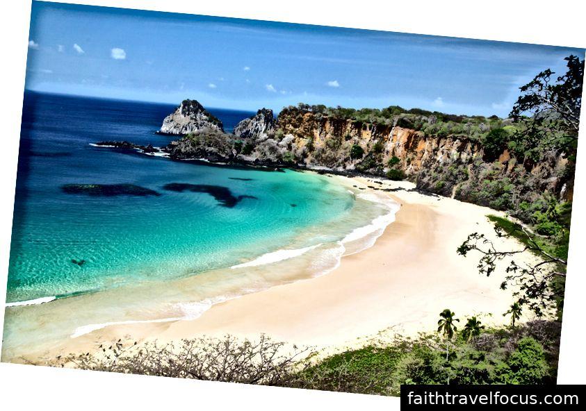 Bãi biển Fernando de Noronha, Brazil