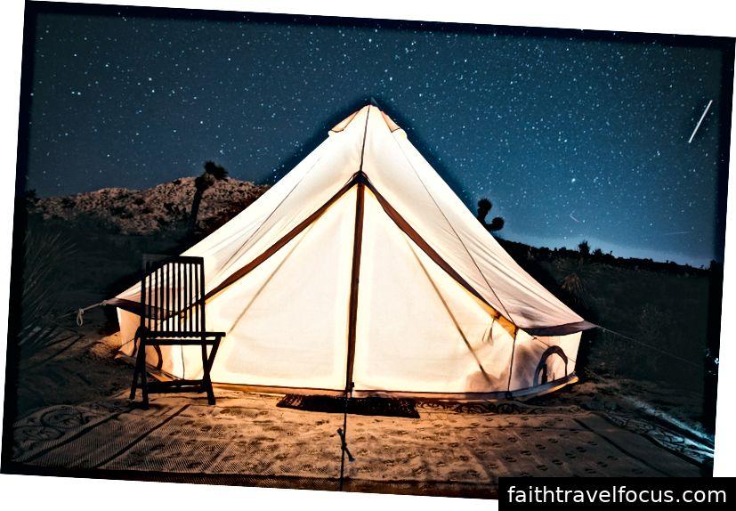 Cắm trại trên sa mạc, Peru