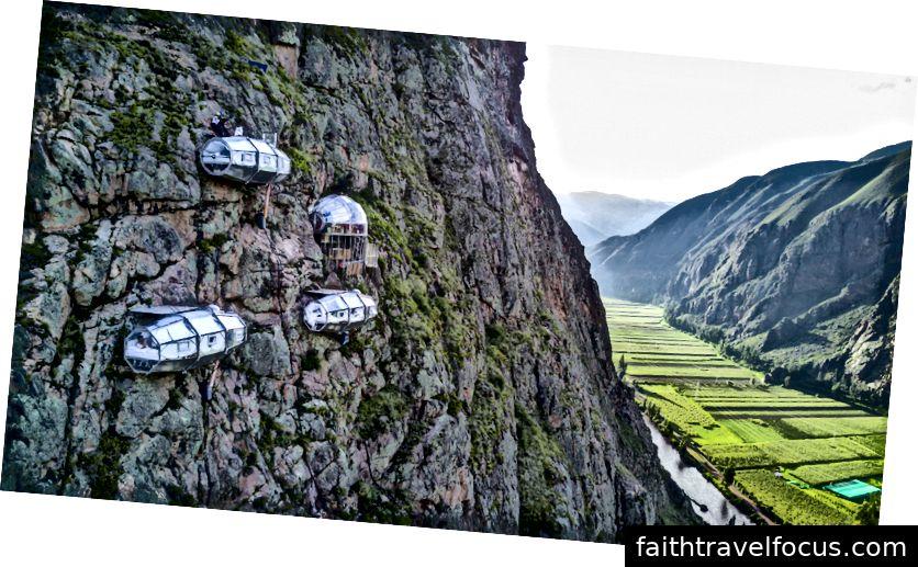 Skylodge, Thung lũng linh thiêng, Peru