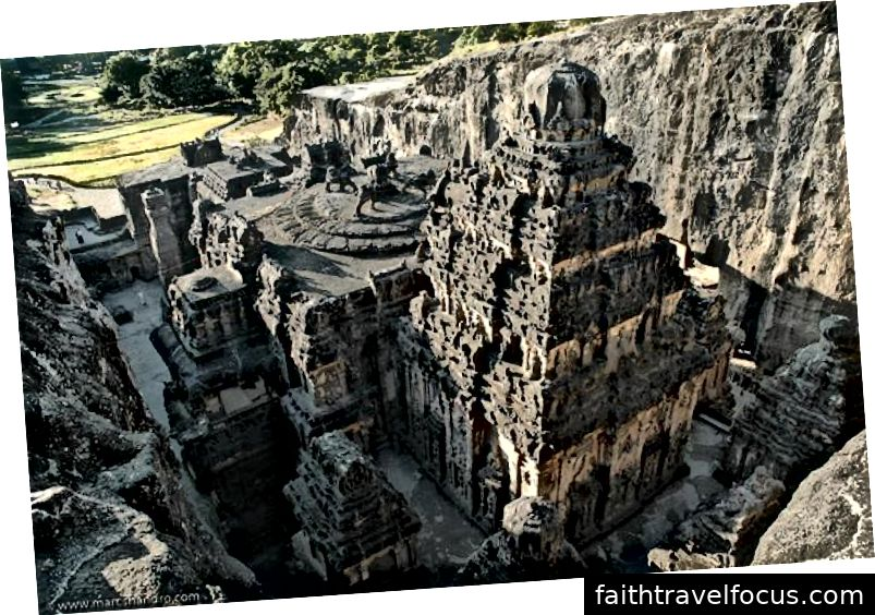 Đền Kailasa - Ellora Maharsatra Pune