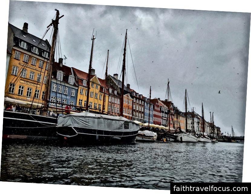 Ảnh chụp của tác giả; Copenhagen, Đan Mạch