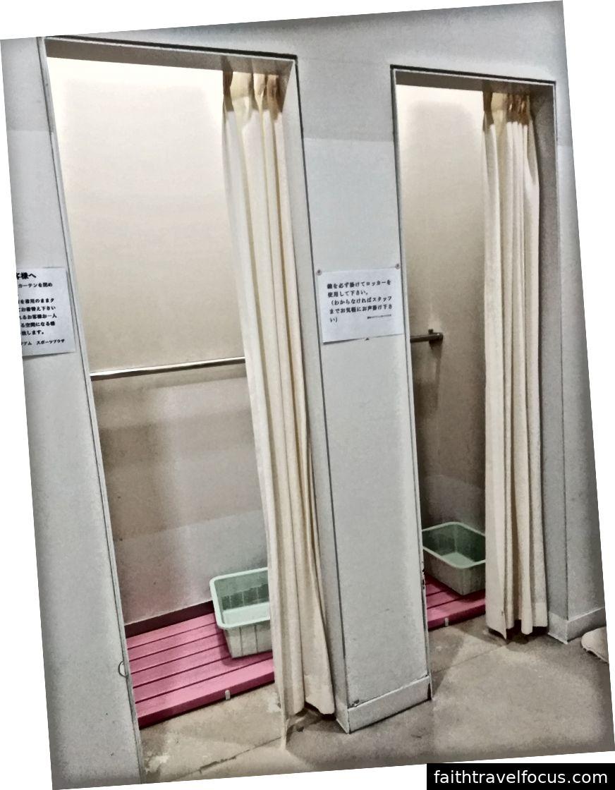 Bạn có thể cởi quần áo và tắm rất riêng tư