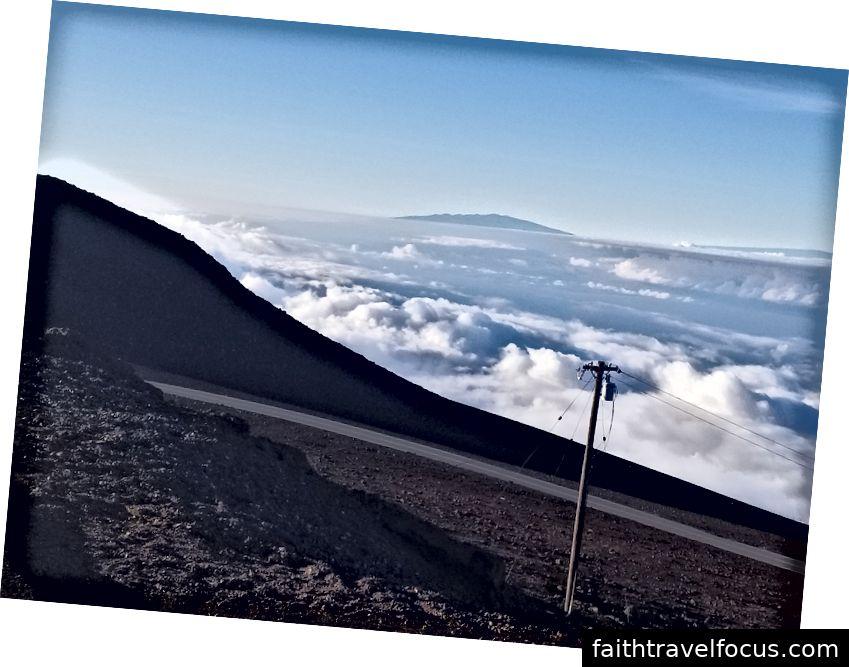 Nhìn vào Đảo Lớn từ Maui - ảnh của tôi