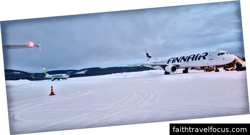 Tại sân bay Ivalo