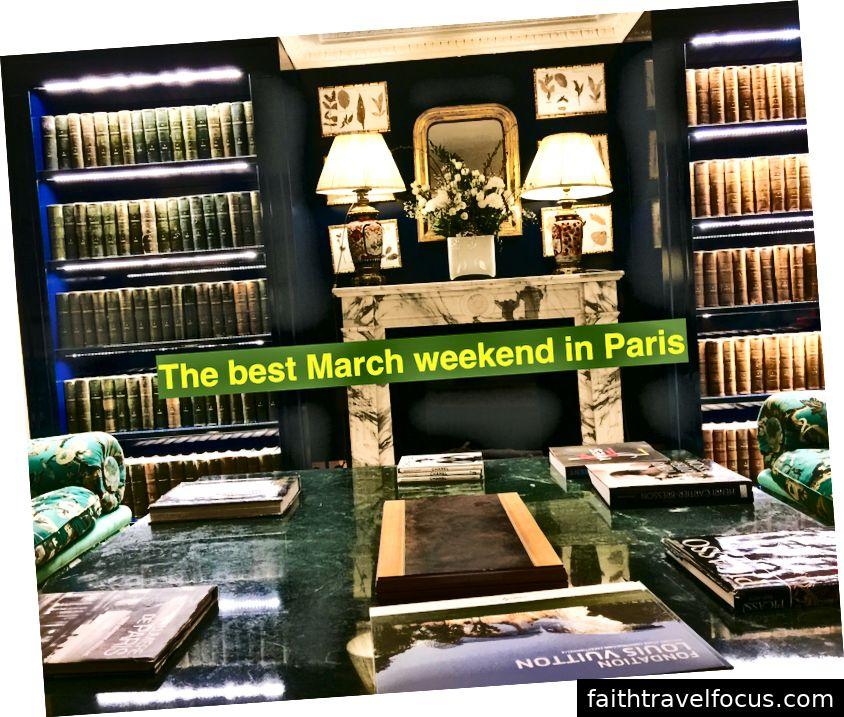 Cuối tuần tháng ba tốt nhất ở Paris