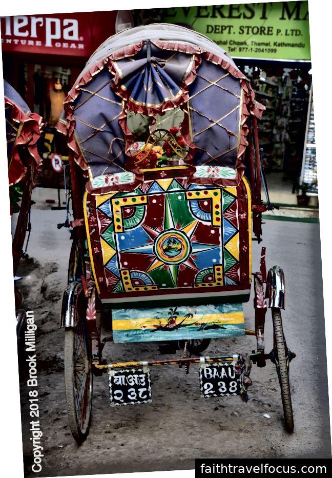 Rickshaw cho thuê