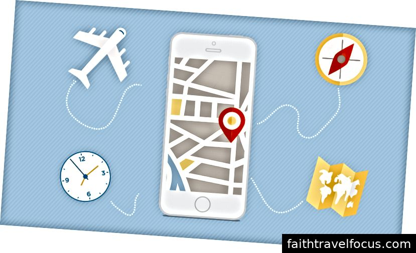Apps kunnen reizen zoveel gemakkelijker maken