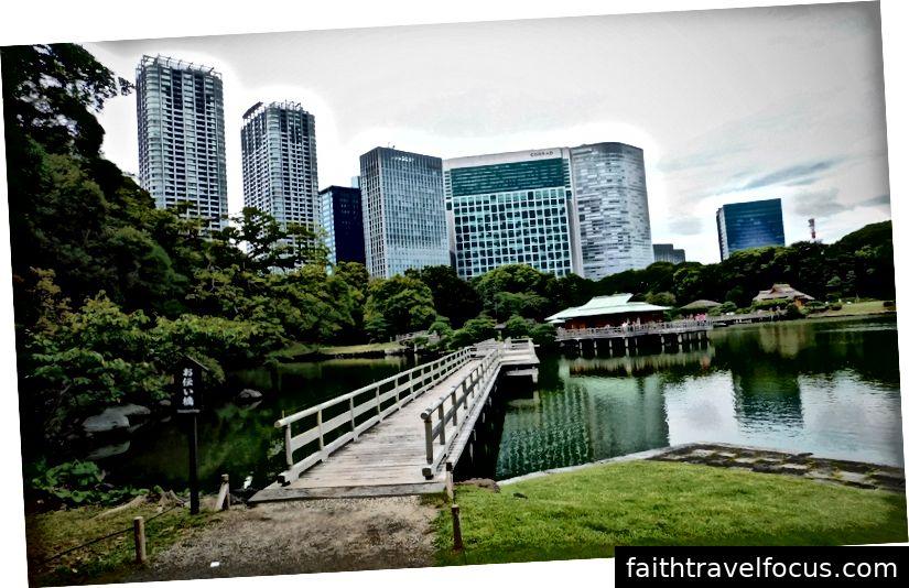 Hamarikiyu dārzi, Tokija
