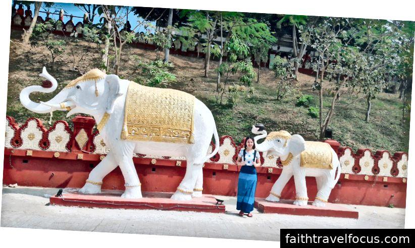 với tượng voi