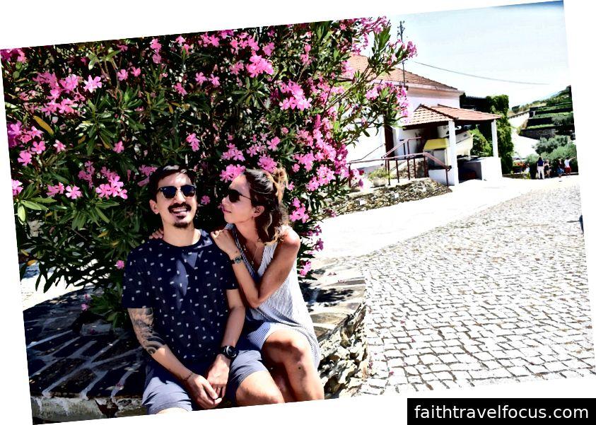 Bạn trai của tôi, Fernando và tôi ở De Ouro Vale, Bồ Đào Nha