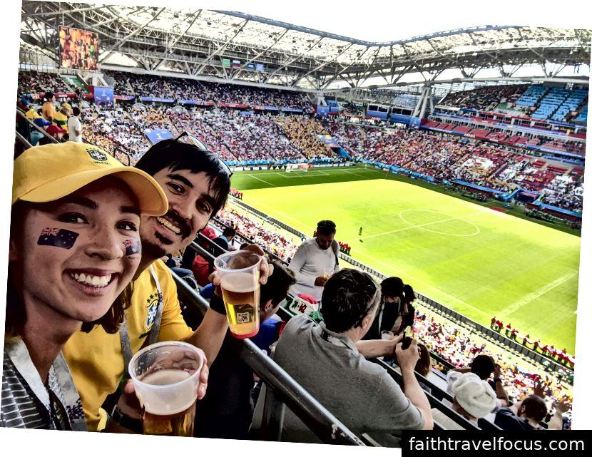 Thấy Úc thi đấu tại World Cup ở Nga