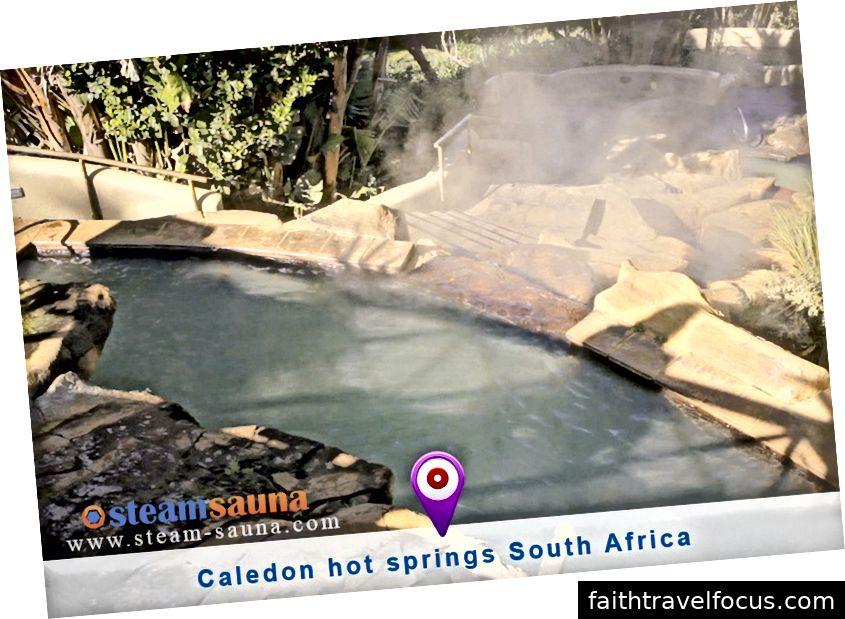 Suối nước nóng Caledon - Nam Phi - www.steam-sauna.com