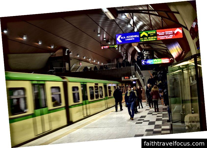 Tàu điện ngầm Sofia