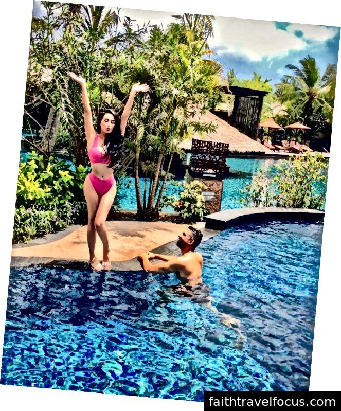 Dhar Mann và bạn gái Laura G tổ chức sinh nhật Laura Lau tại Bali