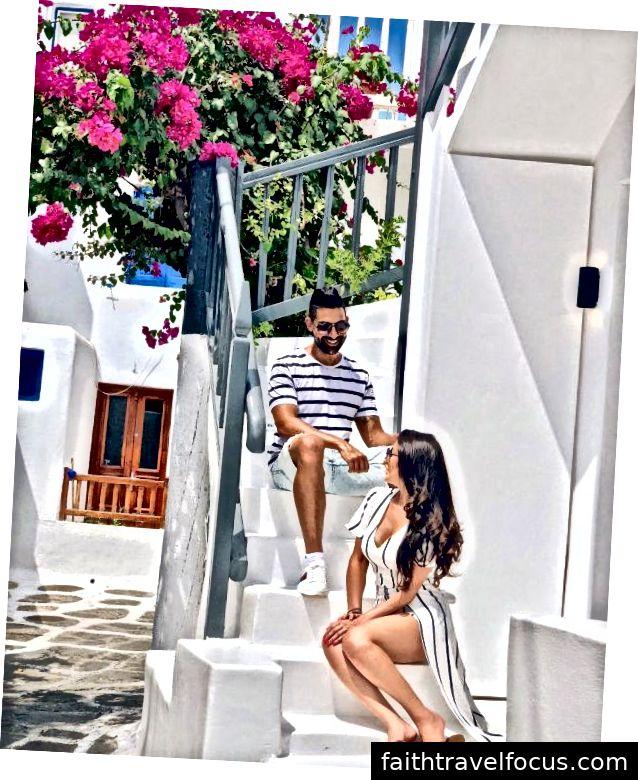 Dhar Mann và bạn gái Laura G đi chơi ở Mykonos, Hy Lạp
