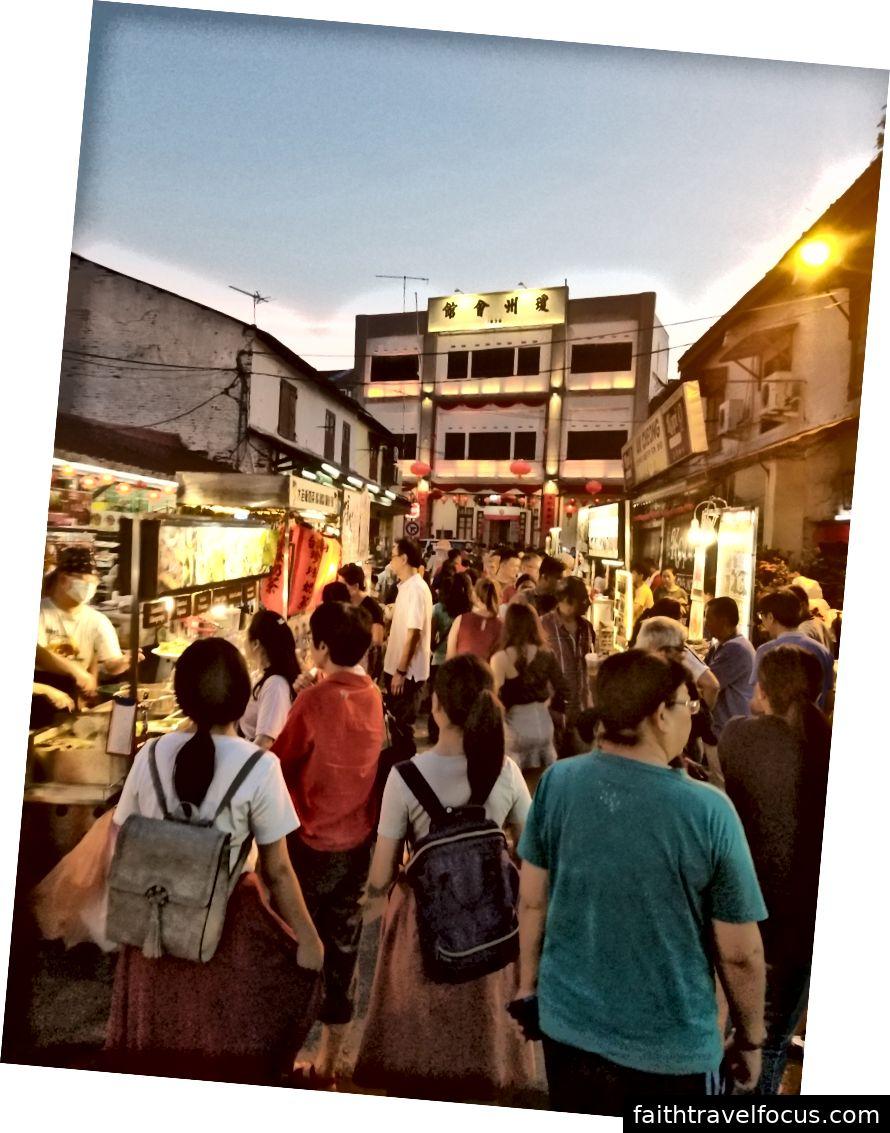 Chợ nhỏ, ngoài đường Jonker (tối thứ Tư)