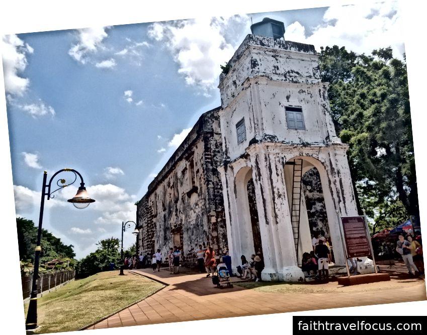 Nhà thờ thánh Paul Paul (Nhà thờ Ruin)