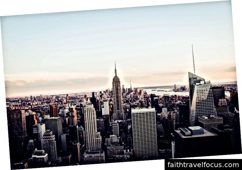 Chào mừng đến New York. Nó đã chờ đợi bạn. [Ảnh: Oliver Niblett]