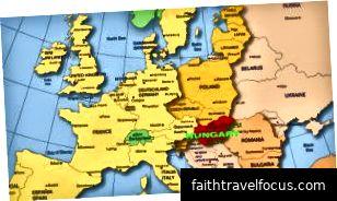 Waar is Hongarije?