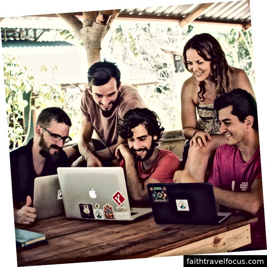 Coworking và tinh thần kinh doanh chạy sâu trong hệ sinh thái NuMundo.