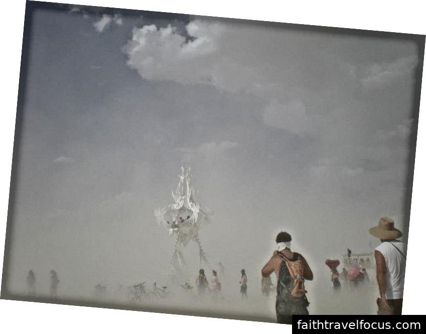 Burning Man 2012 - Ảnh chụp bởi T. Remington