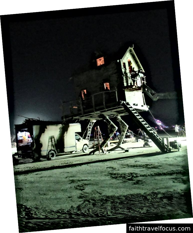 Burning Man 2018 - Ảnh chụp bởi AleXander Hirka