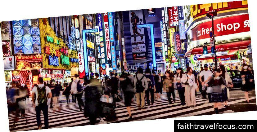 Ngã tư đường bộ Shibuya, Nhật Bản