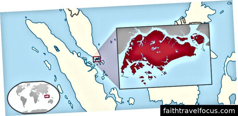 Bản đồ Singapore