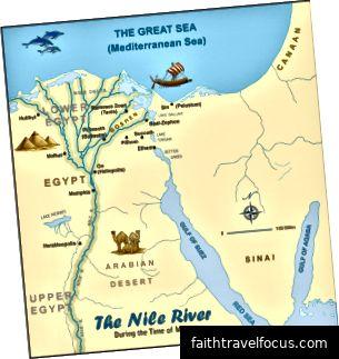 Sông Nile trong tất cả Vinh quang của nó