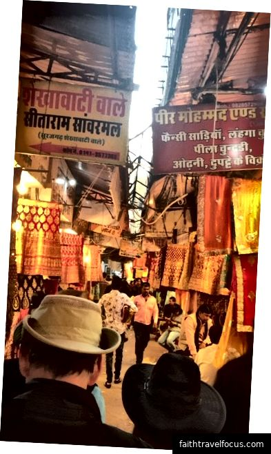 Một khu chợ ở Jaipur