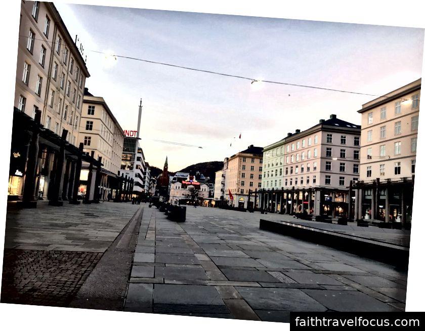 Buổi sáng cuối cùng của tôi ở Bergen