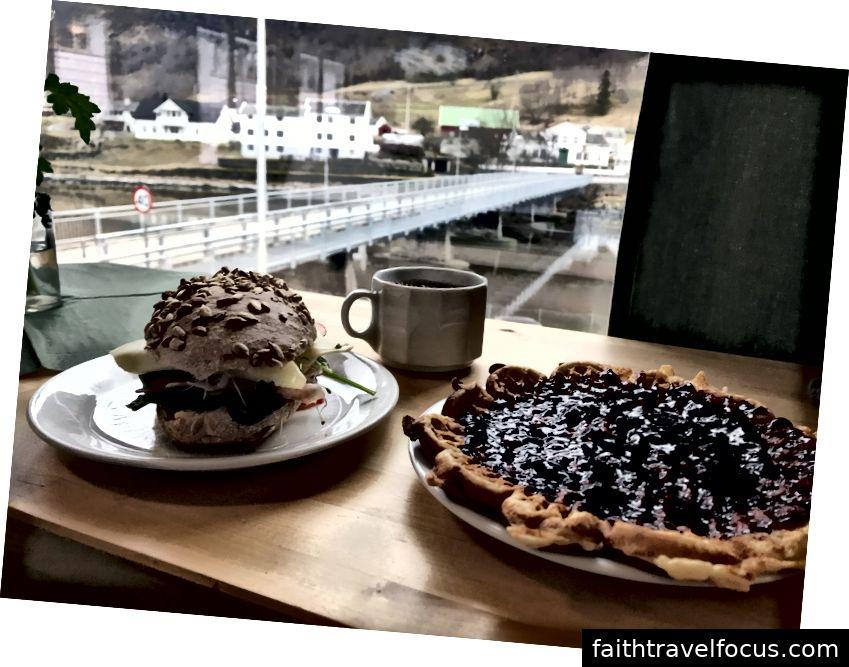 Bữa trưa ngon nhất của Na Uy từ Marianne Bakery & Cafe