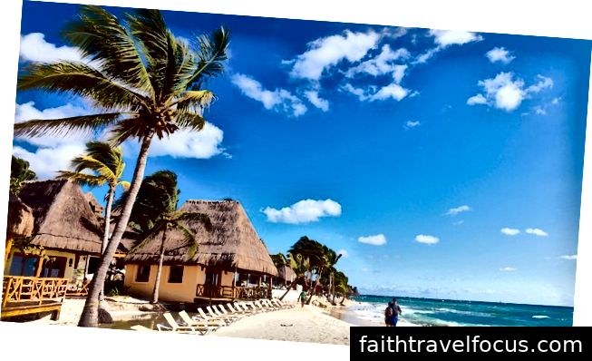 Bãi biển phía Bắc - Playa del Carmen, Mexico