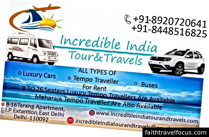 Du lịch và du lịch Ấn Độ đáng kinh ngạc