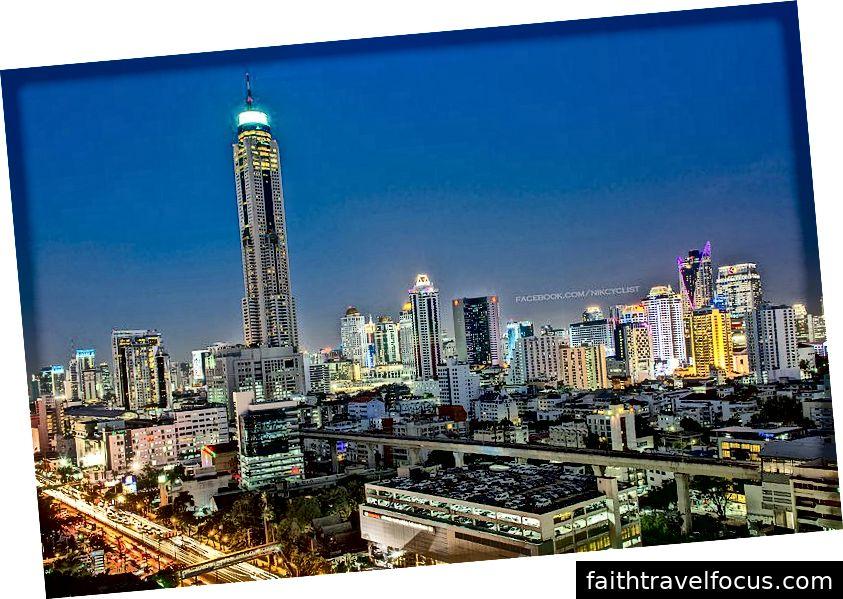 Nik Cyclist từ Bangkok, Thái Lan, Baiyoke Sky Tower ở Bangkok (9421316845), CC BY 2.0