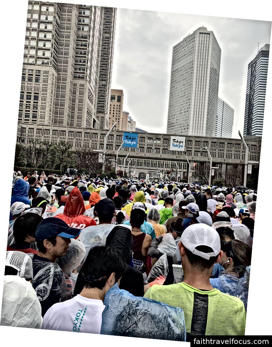 Khởi đầu Tokyo Marathon