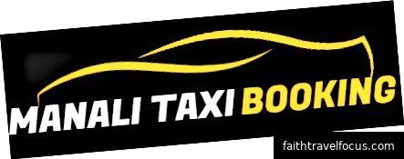 Đặt xe taxi Manali