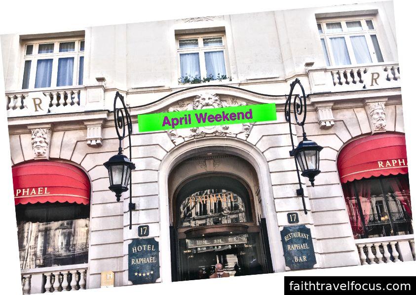 Cuối tuần tháng tư tốt nhất ở Paris