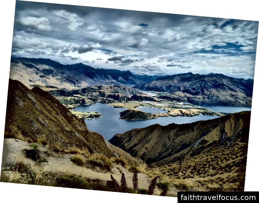 Xem từ Roys Peak Lookout - Tất cả ảnh được chụp bởi Dan Harris